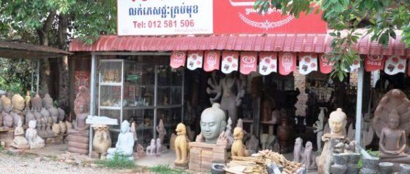 Cambodge-Shopping